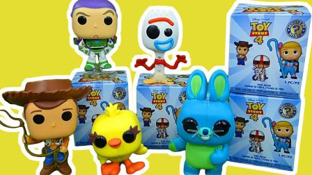 迪士尼玩具总动员4惊喜玩具盒拆封