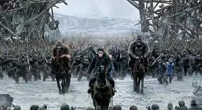 """【猩球崛起3:终极之战】人类步步紧逼,凯撒大帝真""""怒""""了"""