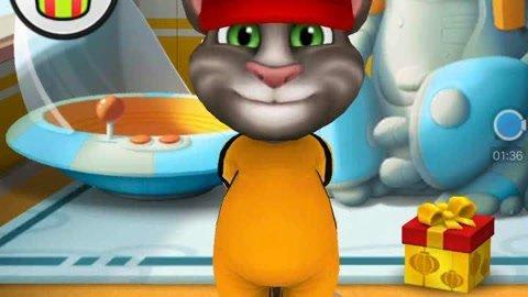 汤姆猫变成功夫小子――汤姆猫系列游戏