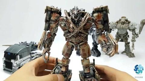酷炫变形金刚:精致机器人玩具大集合