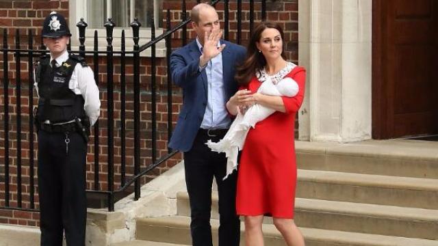 凯特王妃诞下第三胎!粉丝搭帐篷守候为看第五顺位继承人