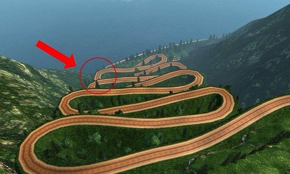 5个不可思议的路!死亡公路?无法预料的下一秒