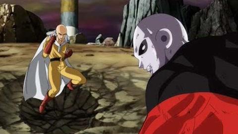 琦玉对吉连-风扇动画-龙珠超对一拳超人