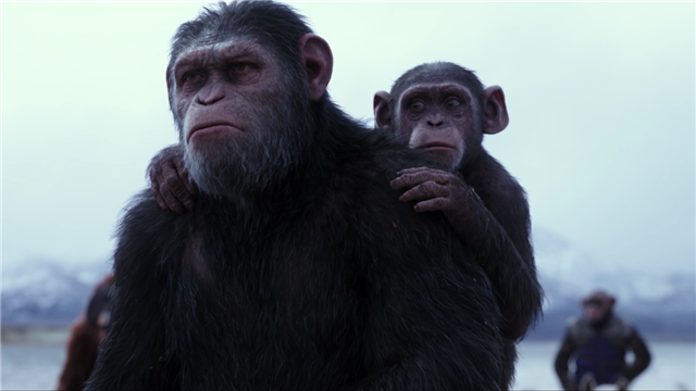 【猩球崛起3:终极之战】幕后特辑展示最强变脸术 人脸40秒变猩猩