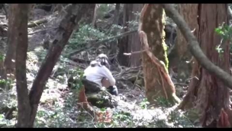 胆小慎入!日本自杀森林令人恐惧汗毛耸立