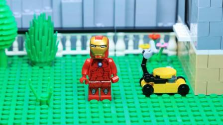 难道这就是超级英雄钢铁侠的日常?落魄到被欺负恶搞?心疼唐尼!