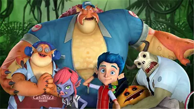 怪物岛上映 合家欢冒险喜剧点燃开学季
