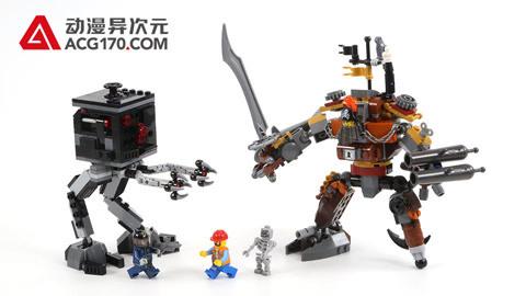 乐高LEGO积木拼插 乐高大电影 70807 金属大胡子的决斗