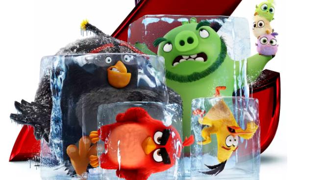 """【愤怒的小鸟2】猪鸟""""合体""""欢乐尬舞"""