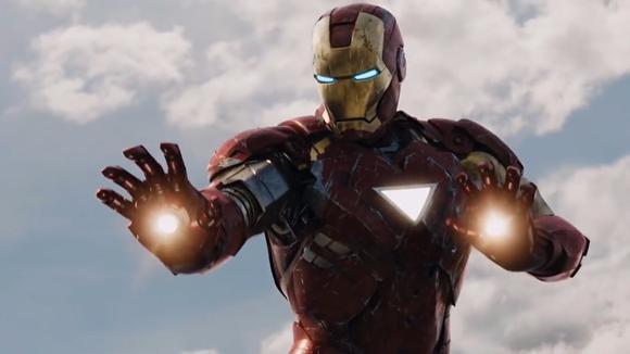 钢铁侠空战集合,帅炸了!有铁人在还要啥战斗机,他就是制空权