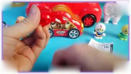 小马宝莉与比得兔一起学习驾驶小汽车,可爱巧虎岛 铠甲勇士捕将