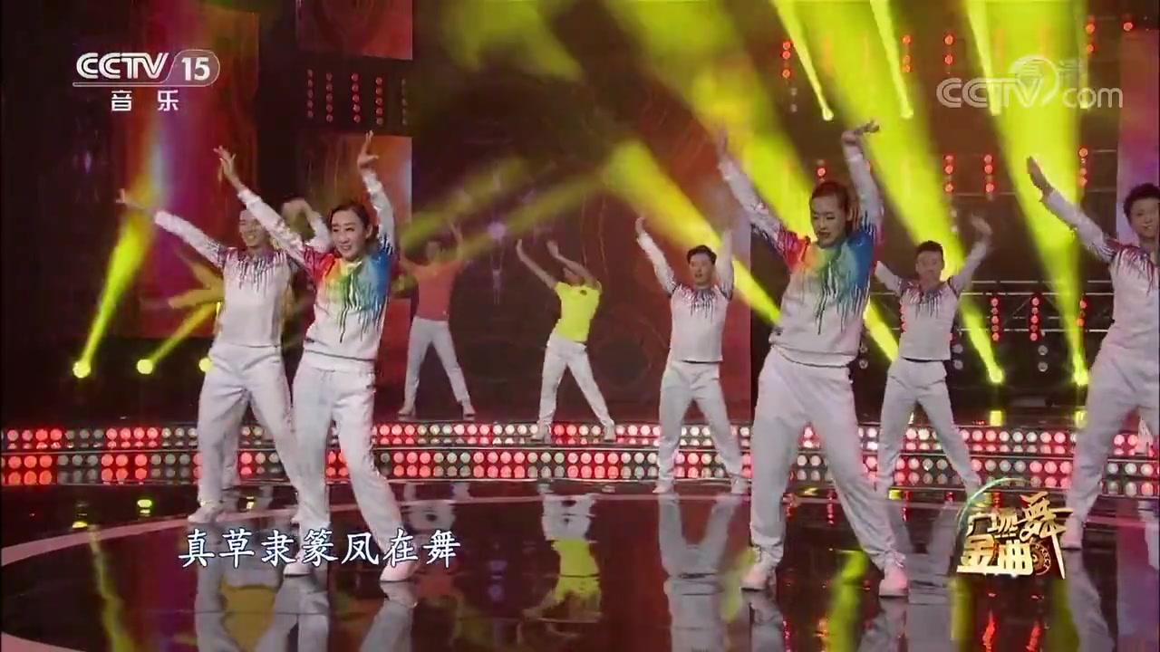 广场舞金曲《中国美》舞蹈
