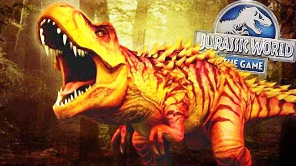 侏罗纪世界游戏 三只霸王龙的登场 恐龙公园