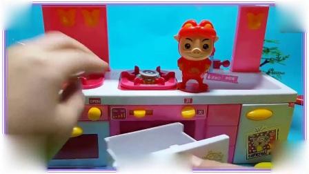芭比娃娃与兔八哥一起吃红薯,小羊肖恩 超级飞侠 汪汪队立大功