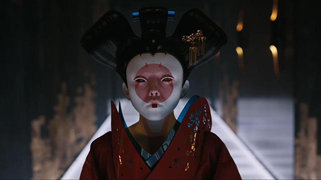 """【攻壳机动队】曝""""暗黑艺妓"""" 史上最惊艳反派亮相"""