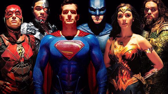 一口气看《正义联盟》,蝙蝠侠超人神奇女侠闪电侠海王钢骨全登场