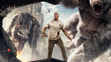 【狂暴巨兽】巨石强森为救世界对抗惊天巨兽
