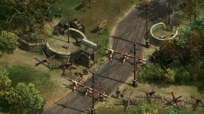 《盟军敢死队2》隐藏关第一关,工兵和小偷一直都是好搭档