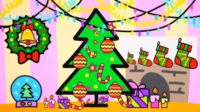 圣诞主题简笔画,你学会了吗?