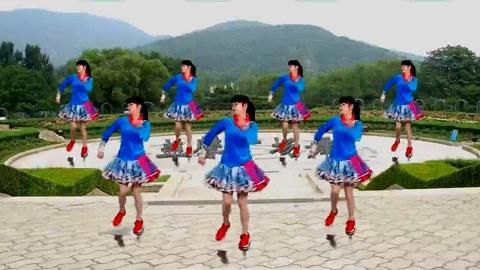 广场舞16步《一起走天涯》