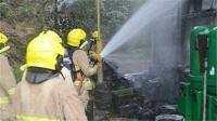香港多处相继发生纵火事件