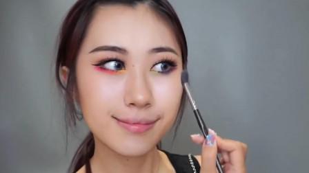 小姐姐仿妆十二星座专属双子座妆容, 看到成品后, 网友: 化妆术逆天!