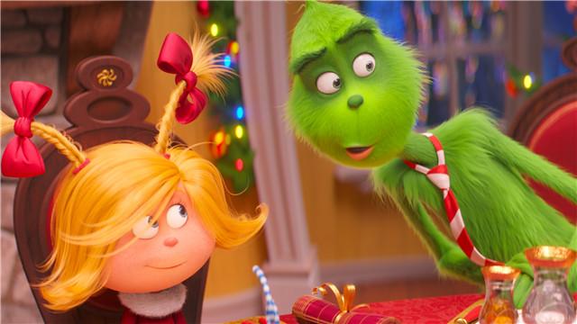 【绿毛怪格林奇】预热欢乐圣诞 爆笑山羊成新晋网红
