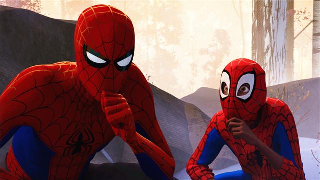 【蜘蛛侠:平行宇宙】师徒携手荡蛛丝 互相吐槽成日常