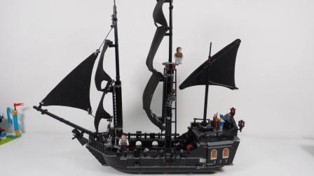给乐拼的加勒比海盗黑珍珠号装个改良船帆, 装上后效果如何呢?