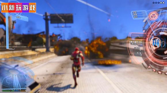 GTA5:钢铁侠刚来就被路人狂揍,惹你了吗