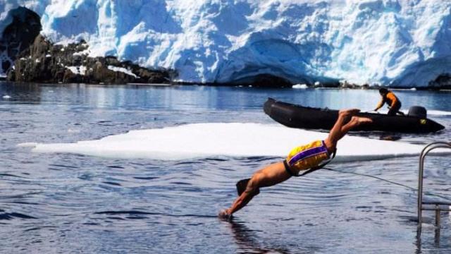 南极上演跳海预言,冰冻星球的极限挑战!
