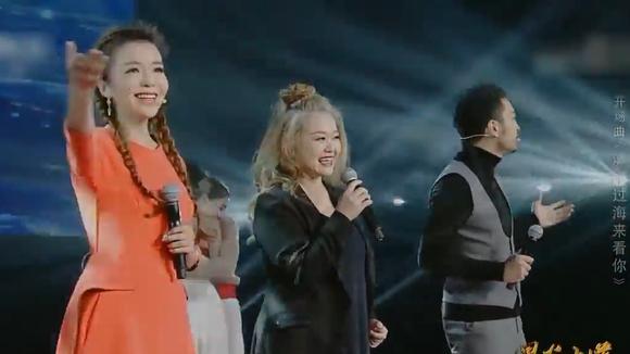 时隔27年,金智娟现身央视演唱《漂洋过海来看你》满满的都是感动