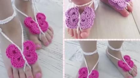 「时尚针织」教你钩织用于装饰的立体蝴蝶结