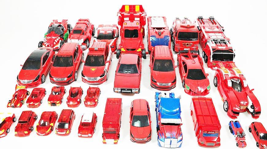 相同颜色魔幻车神托宝兄弟汽车机器人玩具