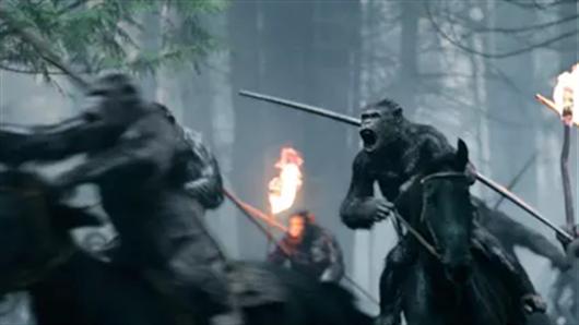 【猩球崛起3终极之战】曝猿力觉醒版 凯撒成长史引粉丝集体追忆
