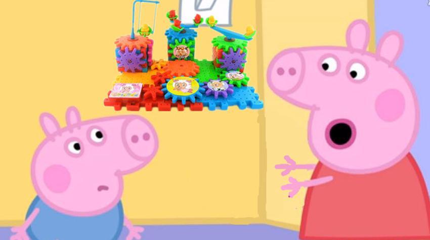 喜羊羊与灰太狼积木玩具视频积木拼装游戏 超级飞侠
