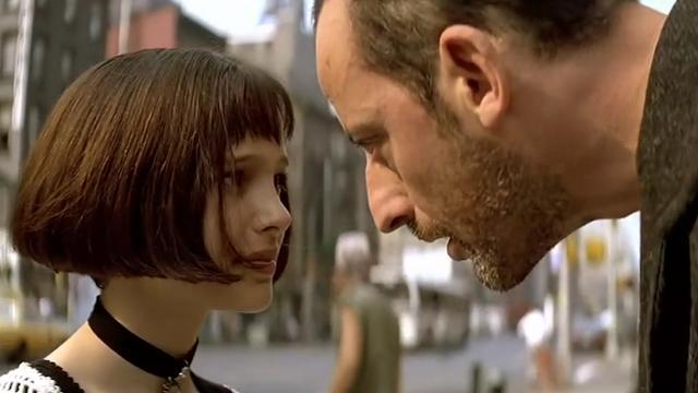 萝莉与大叔电影的鼻祖《这个杀手不太冷》大叔被萝莉推倒