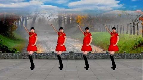 广场舞16步《九九女儿红》大众健身舞