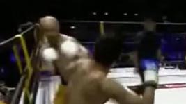 武林风迪拜一龙KO比赛视频
