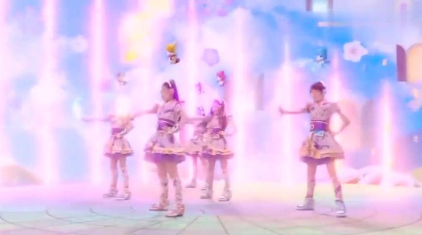 日版舞法天女:和服的颜色跟樱花一样,这样的衣服你想穿吗