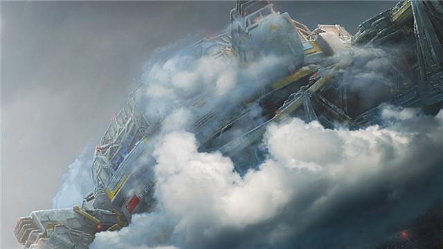 【流浪地球】全新物料 11公里高行星发动机秒杀珠穆朗玛峰