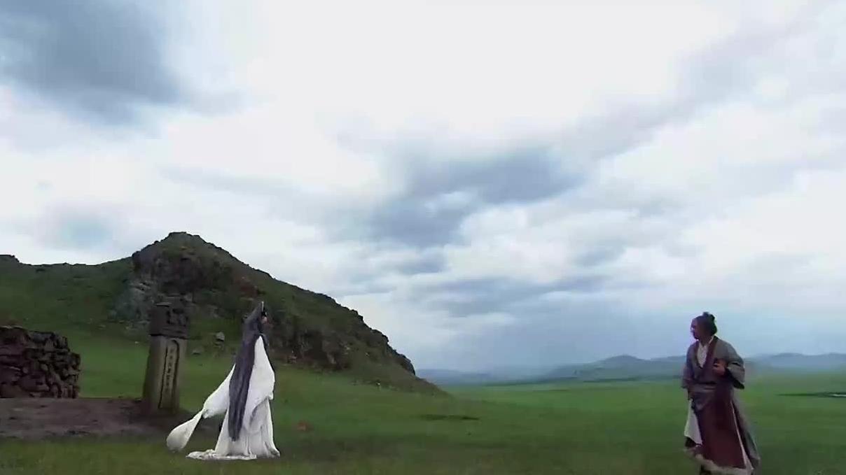 【情剑】老头和女子打架,居然从墓里蹦出一个人来